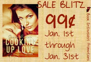 cooking up love by gemma brocato sales blitz