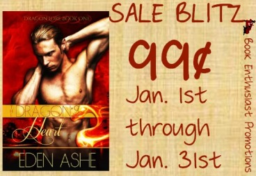 Draggon Heart by Eden Ashe Sales Blitz Banner