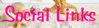 social links beach banner